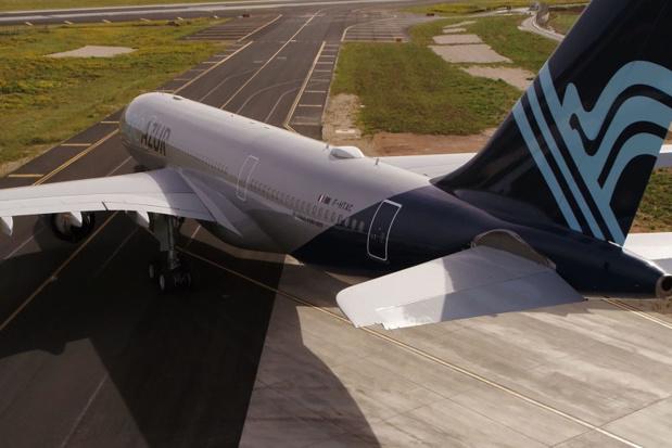 Les vols cesseront ce vendredi 6 septembre 2019 à 23h59. Dans le cas de la vente de forfait, il convient de reprotéger les passagers sur d'autres vols pour éviter la survenance d'événements additionnels donnant lieu au paiement de compensations de la part de l'agent de voyages - DR : Aigle Azur