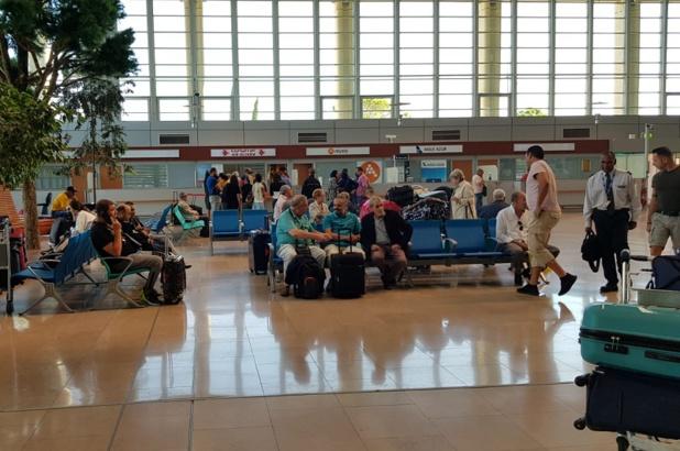 Les passagers d'Aigle Azur sont aujourd'hui dans le brouillard - DR : CE
