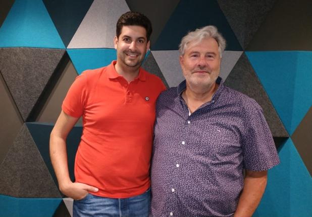 Raphaël Torro, président de Penguin World avec Richard Carayon, fondateur de Quartier Libre - crédit photo DR