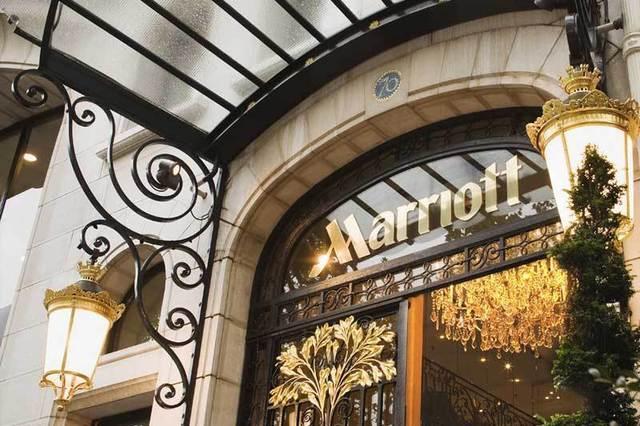 240 millions d'euros pour le Marriott des Champs Elysées, soit 1,3 million par chambre. En ces temps de crise, les prix d'acquisitions de certains hôtels donnent le vertige./photo dr