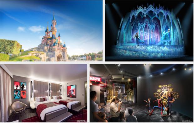 Le parc d'attractions français attirerait 15 millions de visiteurs chaque année © Disney