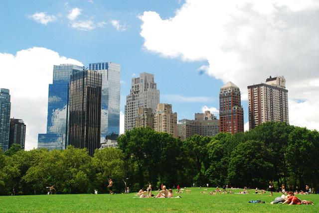 Parmi le total des touristes qui sont venus à New York, 40,2 millions sont américains et 10,3 millions sont étrangers - DR