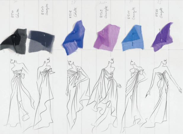 Musée des Tissus : Yves Saint Laurent s'offre la part du Lyon...