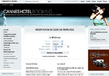 Cannes-hotel-reservation.com : nouveau moteur de réservation hôtelière