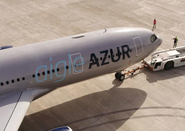 Un des deux A330-200 d'Aigle Azur, utilisé pour se lancer dans le long-courrier en 2018© AA