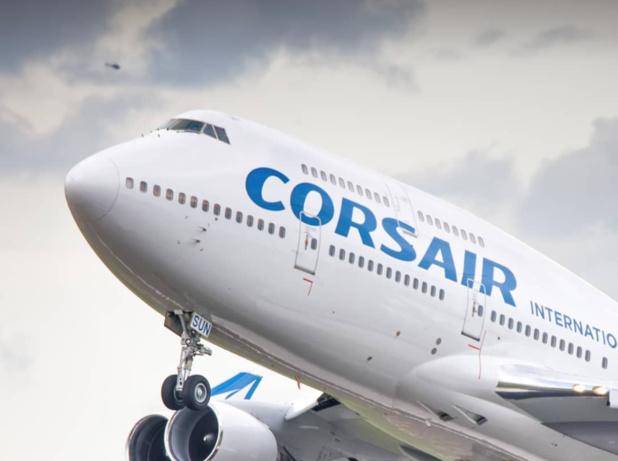 Les fameux Boeing 747 de Corsair feront leurs adieux plus tôt que prévu au tarmac d'Orly © Corsair