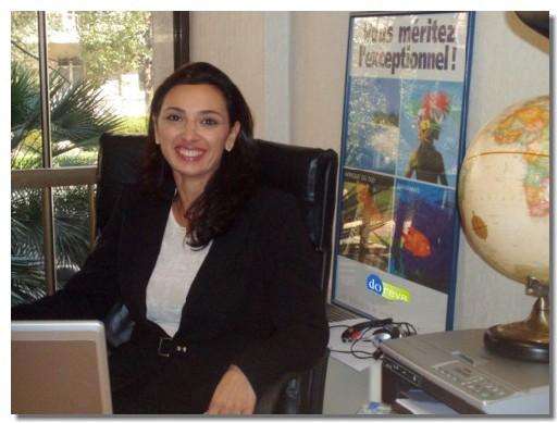 Dorine Scemama a créé l'agence Passport Voyages et le TO Oasis Tour
