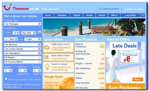 TUI UK, commercialise désormais en ligne la moitié de ses vacances et de ses vols