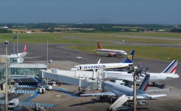 Nouveau record de passagers sur le mois d'août pour l'aéroport de Montpellier - Photo AMM