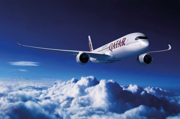 Le vol sera opéré en Airbus A350-900 configuré en bi-classe dont 36 sièges en Classe Affaires et 247 sièges en Classe Economique - DR : Qatar Airways