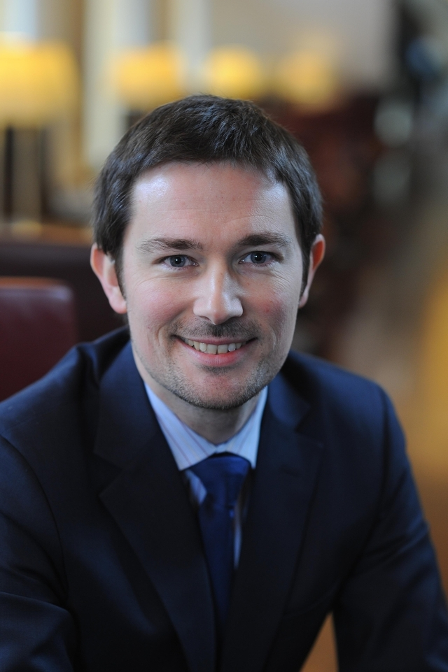 Mikaël Lemarchand, 36 ans, est le nouveau directeur des gares d'Eurostar - Photo DR