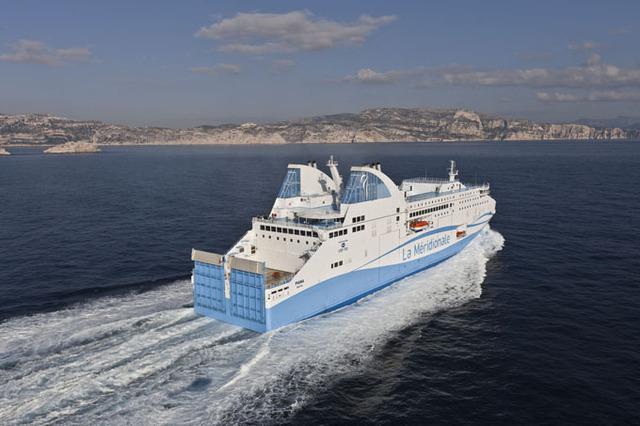 Le Piana remplacera le Kallisté sur la traversée Marseille-Bastia - Photo Gilles Martin-Raget
