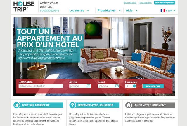Locations vacances : Housetrip.com débarque en France