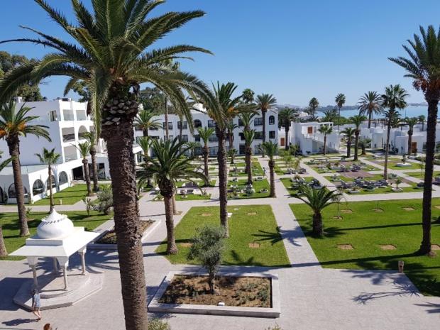 Les Orangers Garden situé à Hammamet en Tunisie - DR