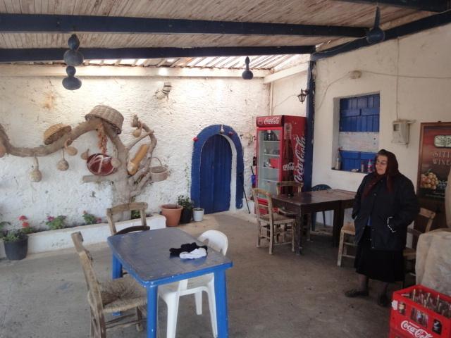 La taverne très personnelle de Kiria Athina - Photo DR