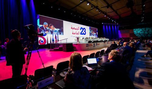 La 23e session de l'assemblée générale de l'OMT s'est tenue à Saint-Pétersbourg (Fédération de Russie) - DR : OMT