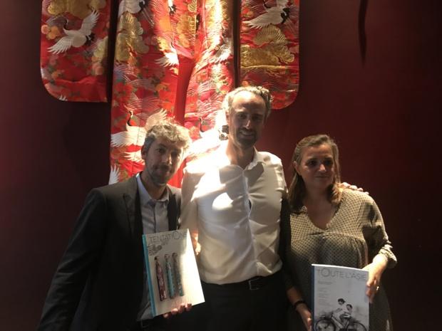 Yannick Barde, Guillaume Linton et Virginie Gerbault ©PG TM