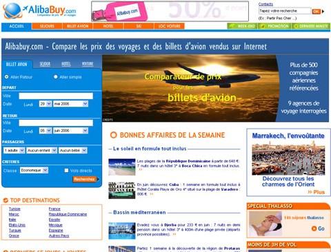 Alibabuy.com : comparateur ''objectif'' des forfaits en ligne