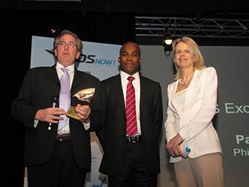 AS Voyages s'est vu remettre l'Award KDS Excellence 2012 pour son taux de progression en 2011 - Photo DR