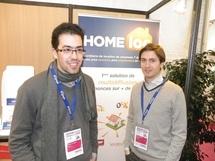 La société Homeloc créée par Franck Lefeuvre et Guillaume Cabane fournit une solution astucieuse - Photo DR