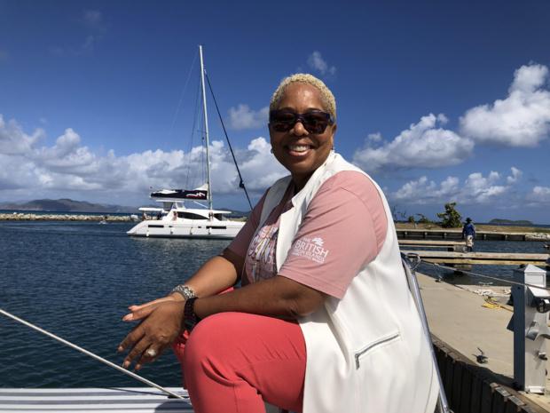 Sharon Flax-Brutus nourrit de grandes ambitions pour les BVI sur le marché français /crédit photo JDL