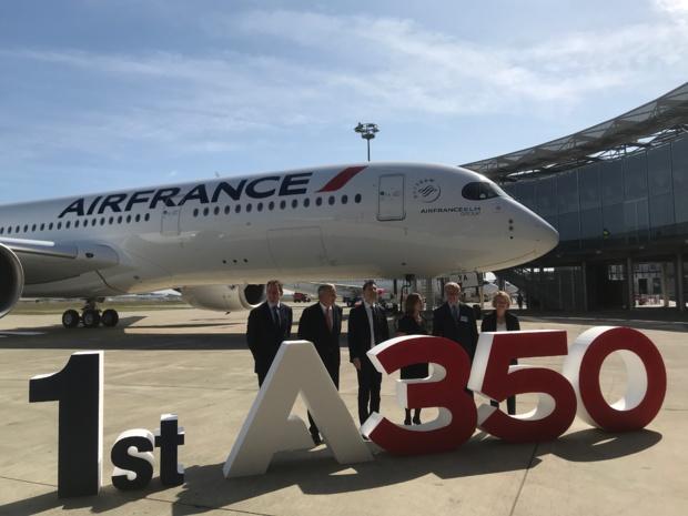 28 A350 rejoindront la flotte d'Air France d'ici 2025 ©PG TM