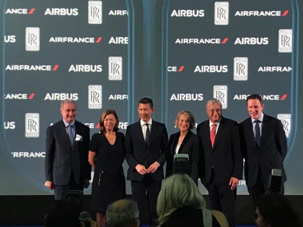 Avec son premier A350, Air France vole vers un transport aérien plus durable (vidéo)