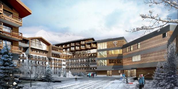 Ce projet de construction représente un investissement total de près de 130 millions d'euros - DR