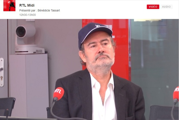 Laurent Magnin : Des mots très forts des mots au bord des larmes... / DR : Capture d'écran RTL