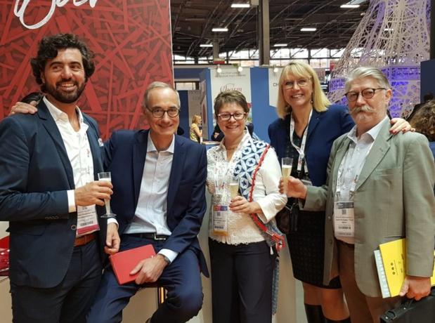 Les représentants de France DMC Alliance et des hôtels The Originals sur l'IFTM Top Resa - Photo CE