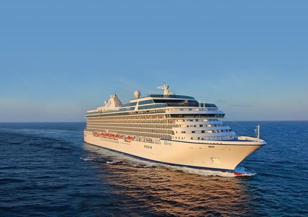 Les navires les plus récents, ceux de la classe O, sont le Marina (sur la photo) et le Riviera, d'une capacité de 1 250 passagers (800 membres d'équipage) - DR : Oceania Cruises