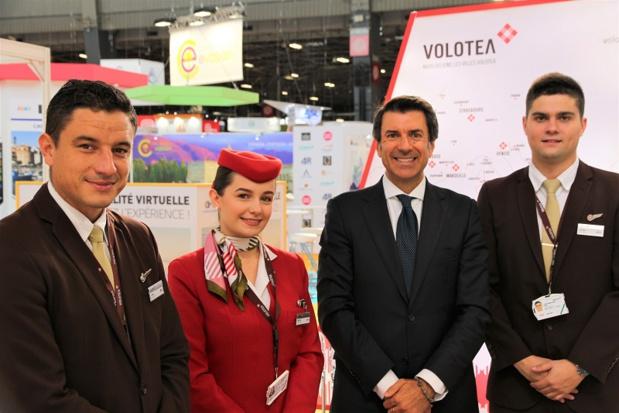 Pierfrancesco Carino a annoncé la volonté de Volotea de s'installer durablement en Allemagne - Crédit photo : Volotea