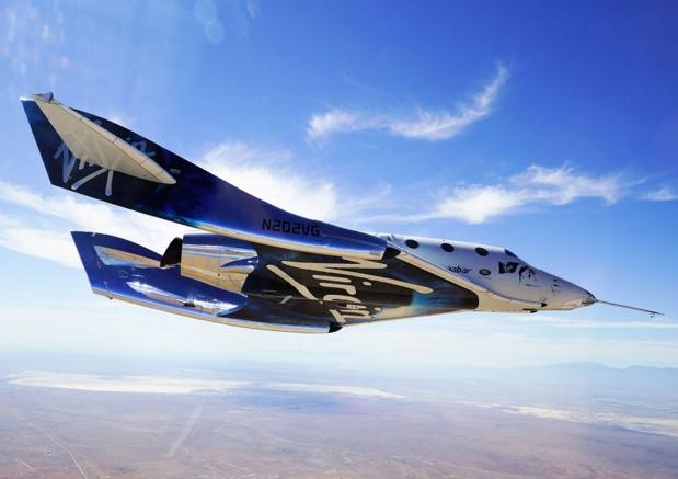 Le groupe de Richard Branson prévoit en effet, dès 2020, d'embarquer 66 passagers lors de 16 vols réalisés par deux fusées, soit quatre personnes par voyage - DR