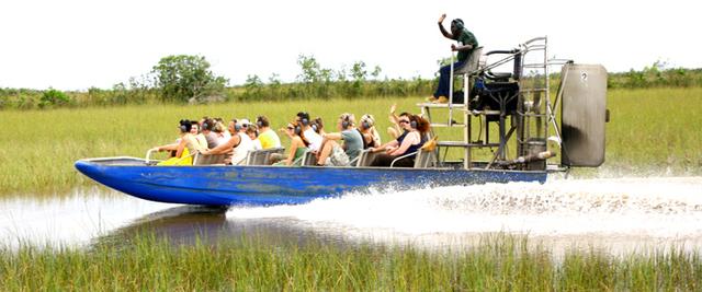 Evasions toniques en Floride dans les Everglades - DR