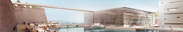 Le futur Musée des Civilisations de l'Europe et de la Méditerranée à Marseille - DR