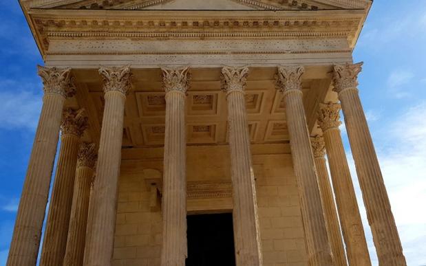 La Maison Carrée est aujourd'hui temple romain le mieux conservé au monde - Crédit photo : TourMaG_JP