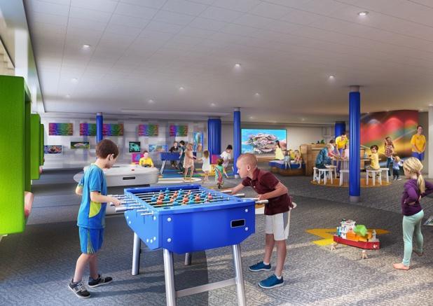 Nouvelle animation laser, refonte des espaces dédiés aux enfants et aux adolescents : les activités et les divertissements de l'Explorer of the Seas seront particulièrement mis en avant - DR : RCI