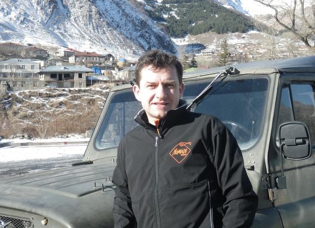 Fabrice Del Taglia, le nouveau directeur de Nomade.