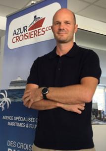 Thibaud Journot, fondateur d'Azur Croisieres