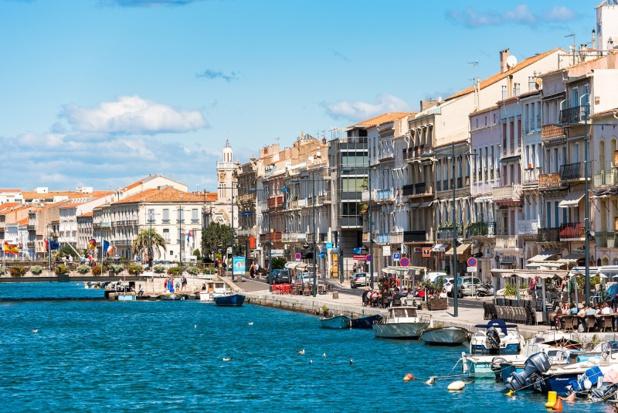 Coincée entre la Méditerranée et les étangs, Sète est une ville d'eau parcourue de canaux - DR : DepositPhotos, ggfoto