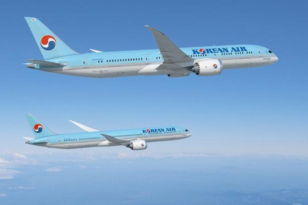 Korean Air vole toujours en quotidien entre Paris et son hub d'Incheon © Boeing