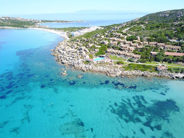 Le nouveau Naya Club en Sardaigne - vue d'ensemble