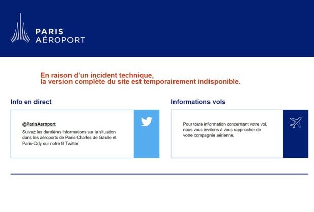 Paris Orly : trafic perturbé suite à un incident technique