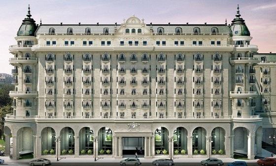 De style Beaux-arts, le Four Seasons de Bakou dispose de 171 chambres spacieuses - Photo DR