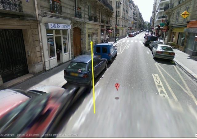 C'est ici, au 170 de la rue Legendre que s'est noué le drame /photo dr
