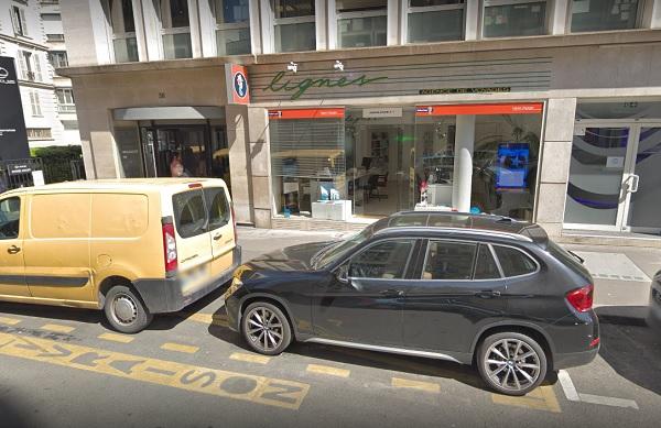 Verdié Voyages vient d'annoncer l'acquisition de l'agence «Lignes Voyages», situé dans 17ème arrondissement de Paris - Crédit photo : Google Maps