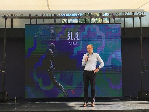 Erik Friemuth, directeur général de TUI Hotels & Resorts - DR : C.L.