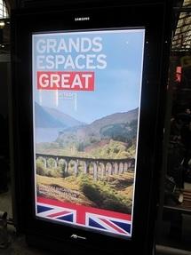 La campagne de promotion 2012 s'appuie sur de grands visuels que l'on peut admirer en ce moment dans les gares parisiennes - Photo DR