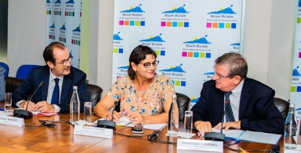 Signature du « Contrat de Destination Île de la Réunion 2020-2022 » à La Réunion le 24 octobre - DR