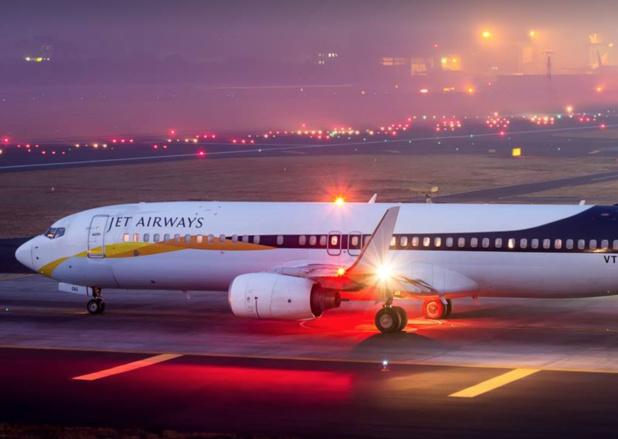 Jet Airways, l'ex-plus grande compagnie indienne privée, a cessé de voler à la mi-avril 2019 © JA